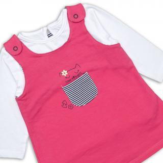 Бебешка рокличка с блузка Коте